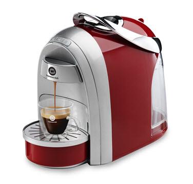 מכונת קפה Mushroom Pro אדום כסוף