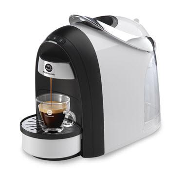 מכונת קפה Mushroom Pro לבן שחור מט