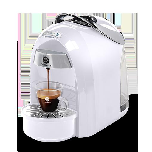 מכונת קפה Mushroom Pro לבן מלא