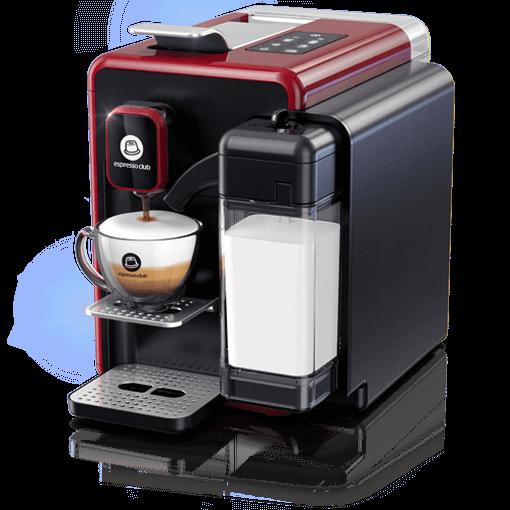 מכונת קפה OneTouch אדום שחור