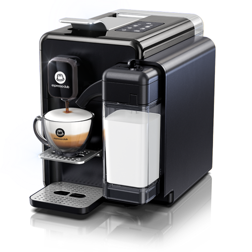 מכונת קפה ONE TOUCH - קרבון שחור